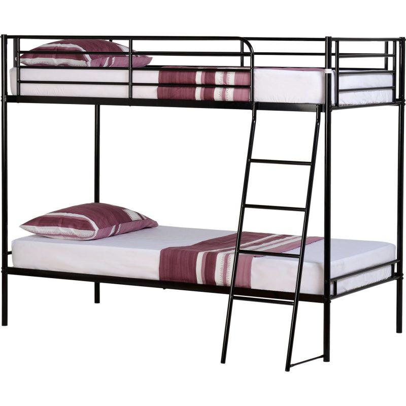 brando bunk bed black