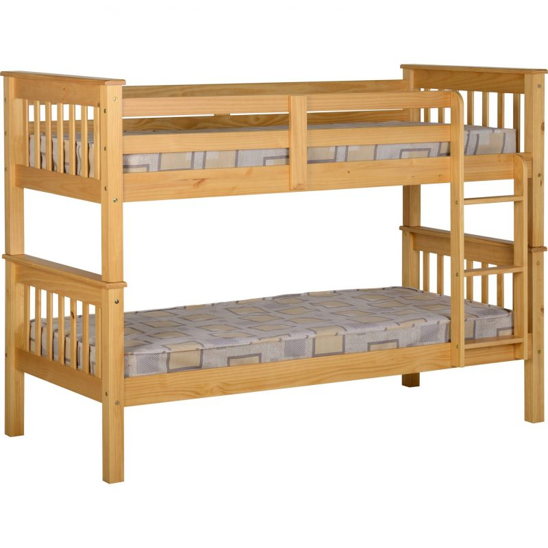 Neptune wooden bunk bed 3' Single