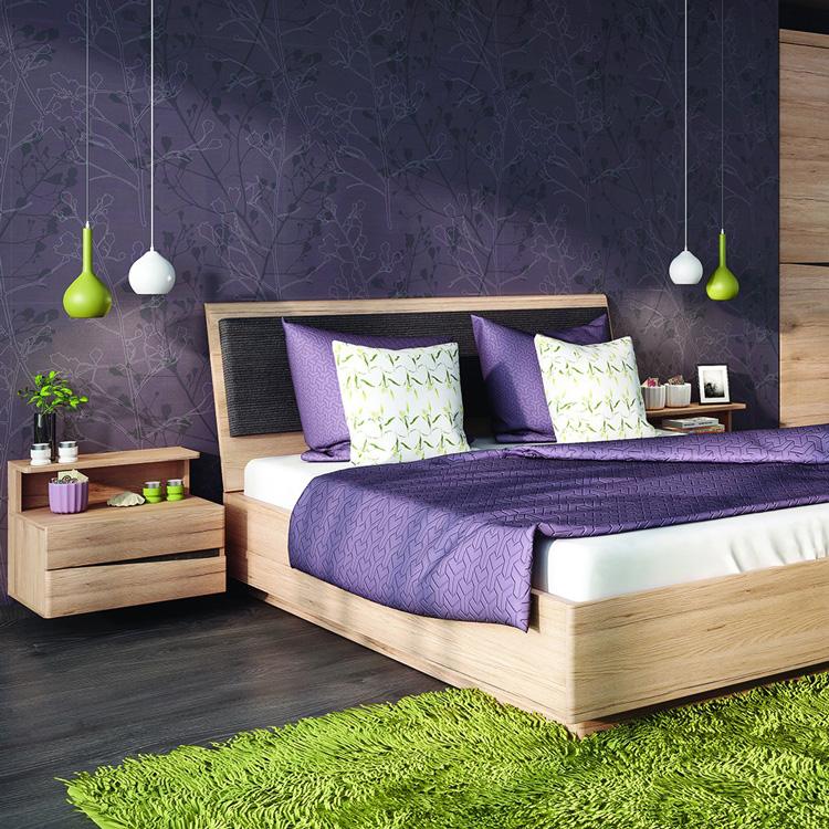 metro double ottoman bed frame oak finish fads. Black Bedroom Furniture Sets. Home Design Ideas