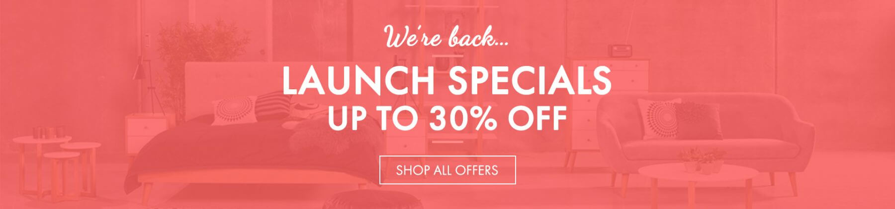 Launch Offers and Discount at FADS Furniture and Design Studio