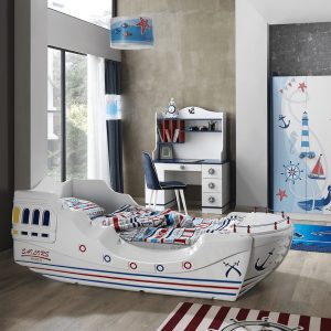 Sailors Adventure Ship Bed