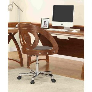 curve-walnut-office-chair-with-desk