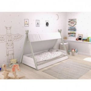 teepee bed single room setting
