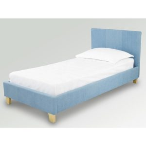 Denver Denim Fabric Single Bed