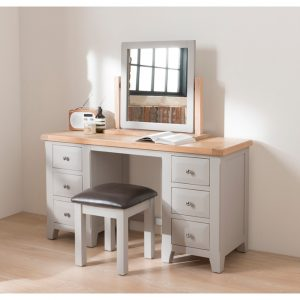 Clemence Dressing Table & Stool Set