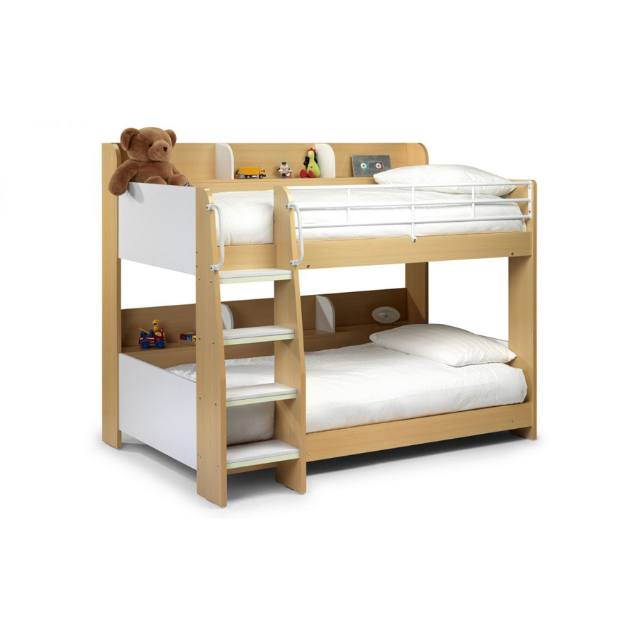 Domino Bunk Bed White