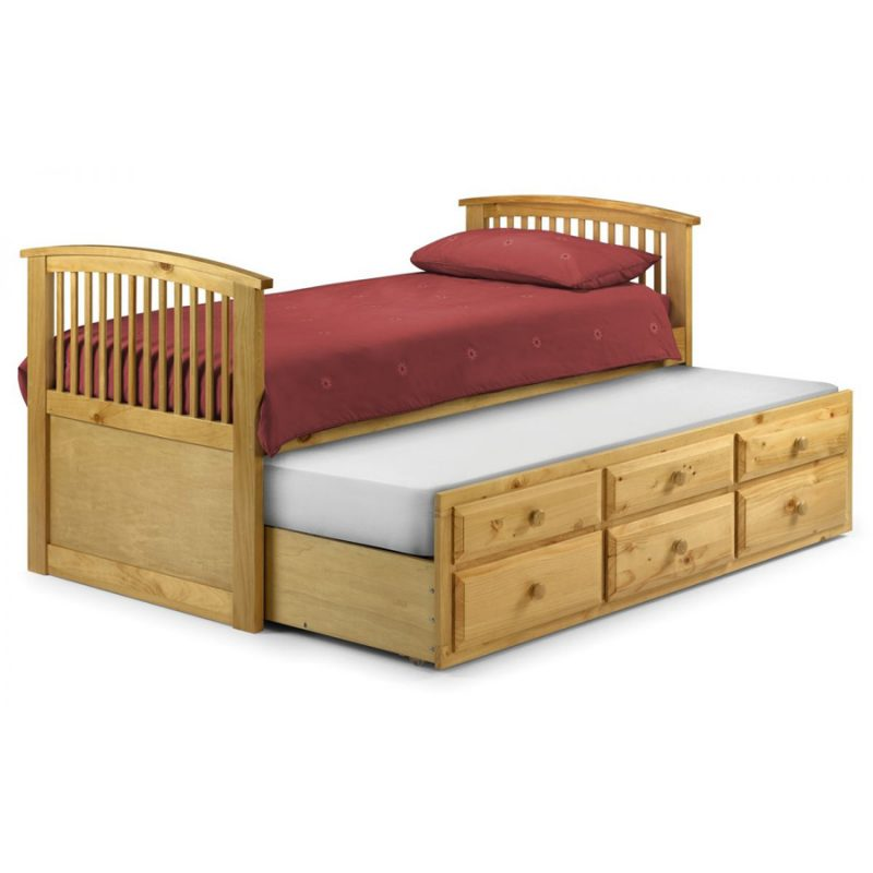 Hornblower Antique Pine Bed