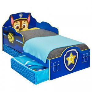 Paw Patrol Chase Toddler Storage Bed