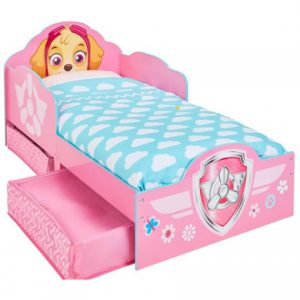 Paw Patrol Skye Toddler Storage bed