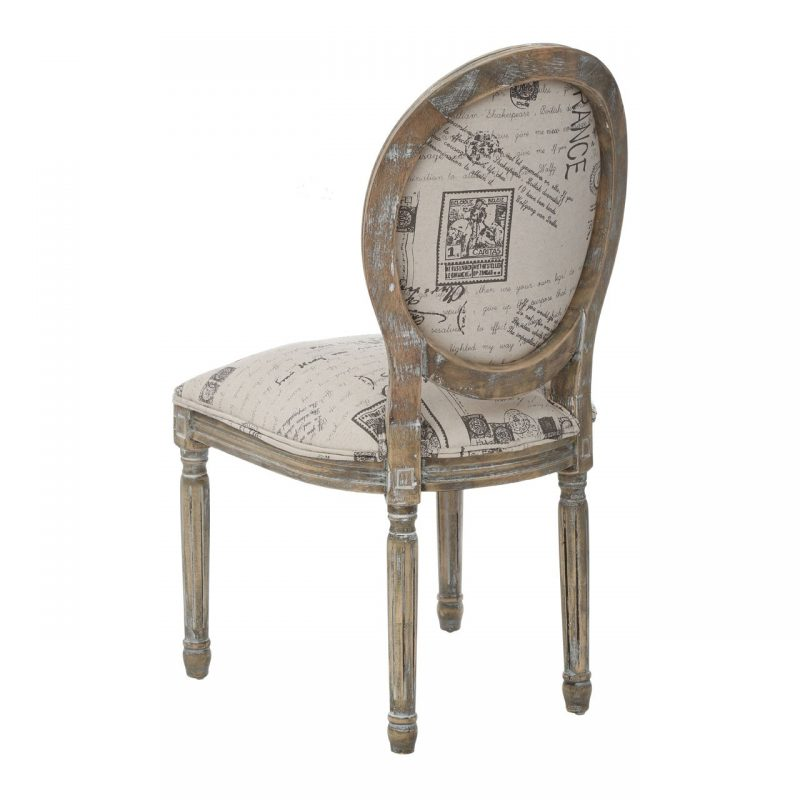 Francois Chair Cream 2