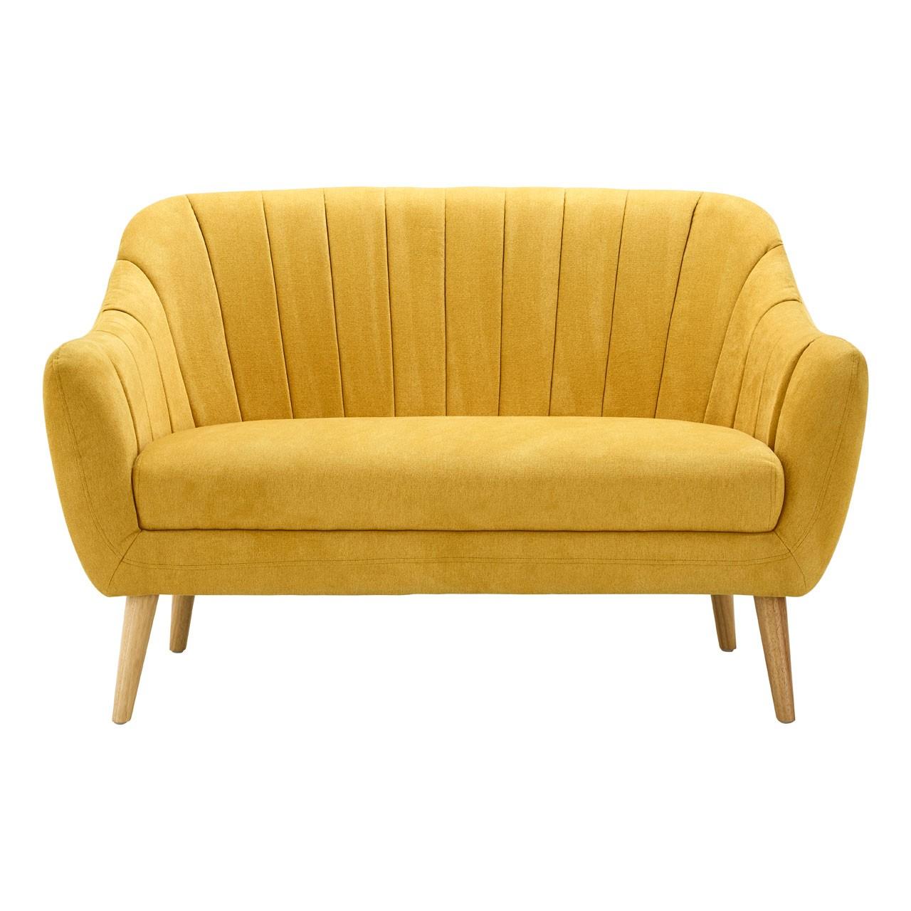 Gottenberg 2 Seater Sofa Yellow