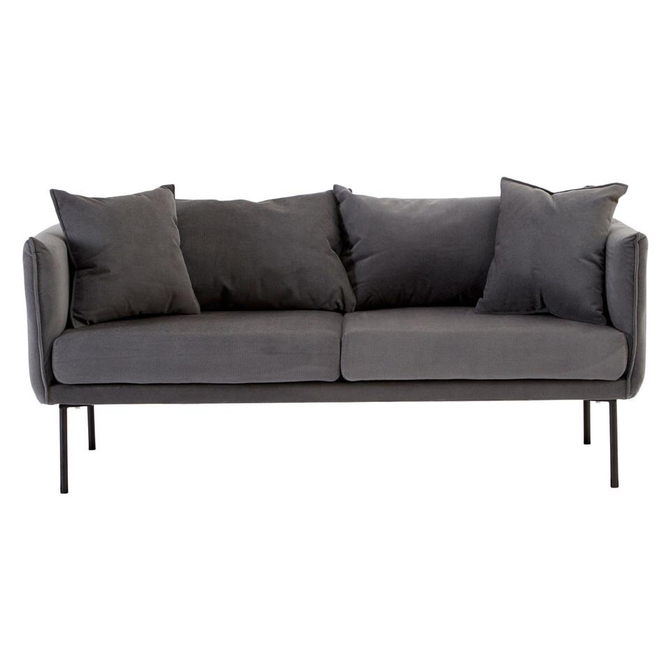 Kolding 2 Seater Sofa Grey 2