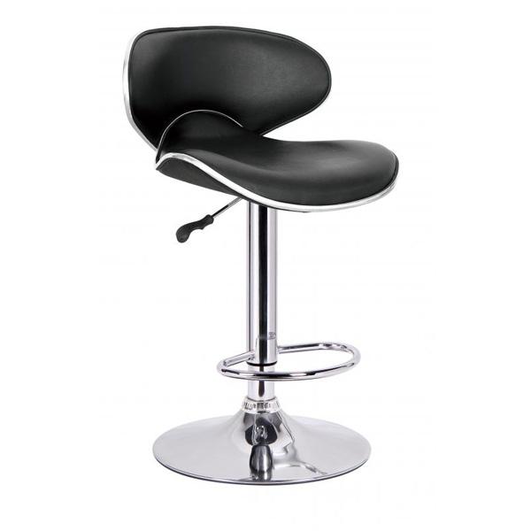 Bahama Bar Chair Black