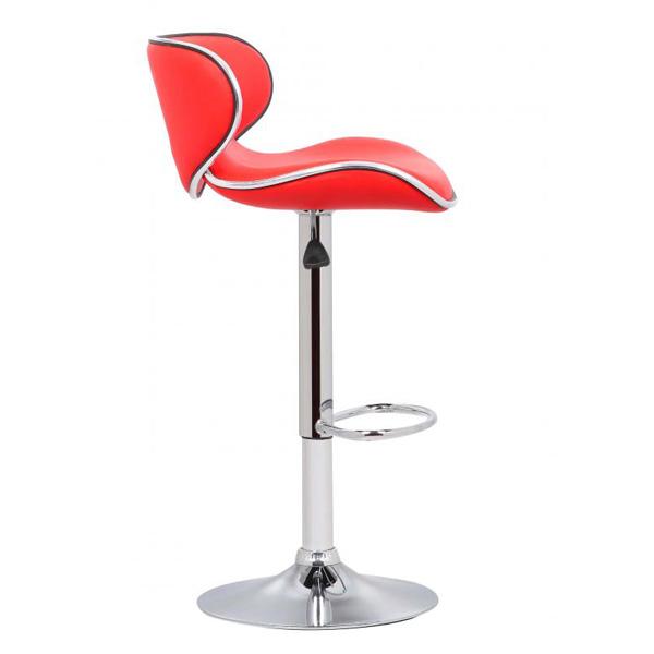 Bahama Bar Chair Red Side