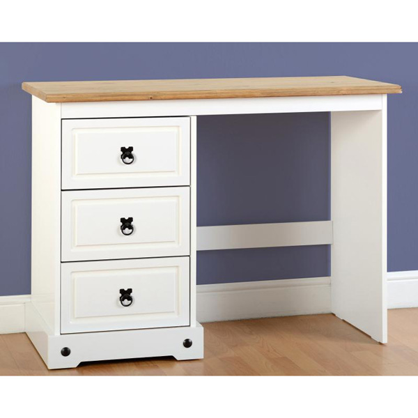 corona white dressing table