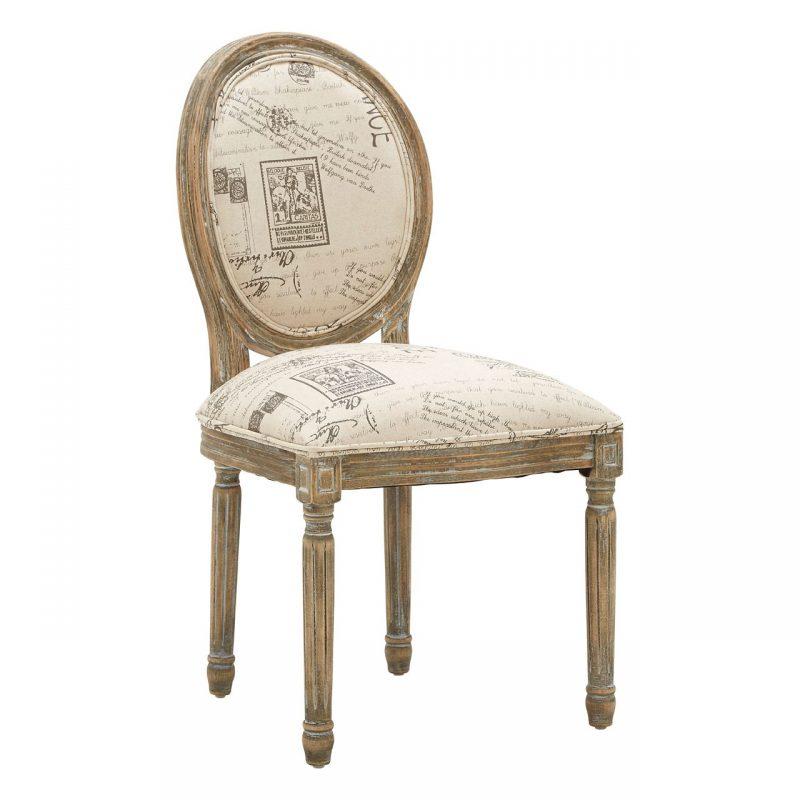 francois cream chair