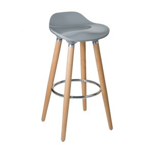 Grey Lexus Bar Stool