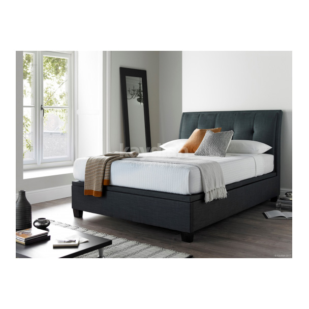 Accent Ottoman Storage Bed Slate