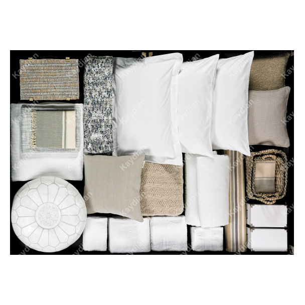 Accent Ottoman Fabric Storage Bed