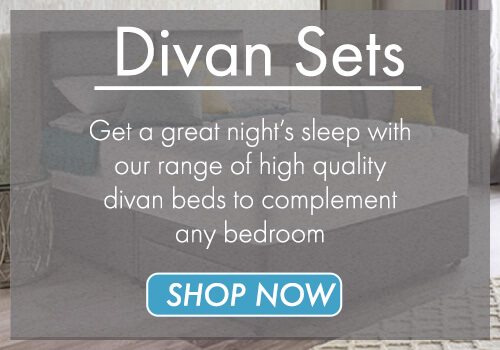 Shop through our range of high quality divan beds