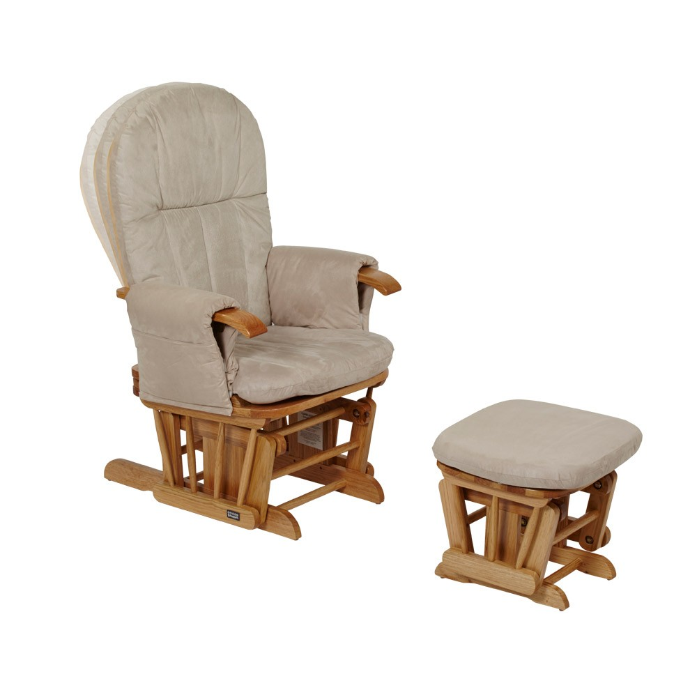 Tutti Bambini GC35 Reclining Glider Chair - Natural