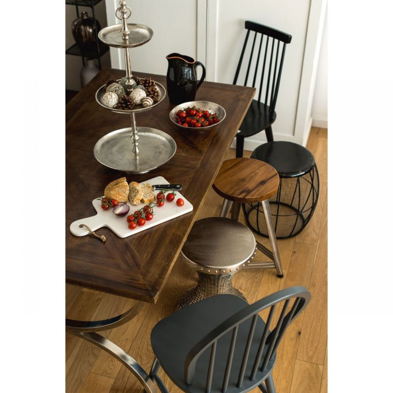greenwich rustic dining table roomset