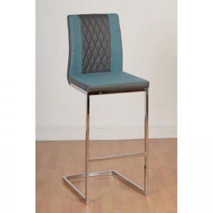 Sienna Teal Bar Chair