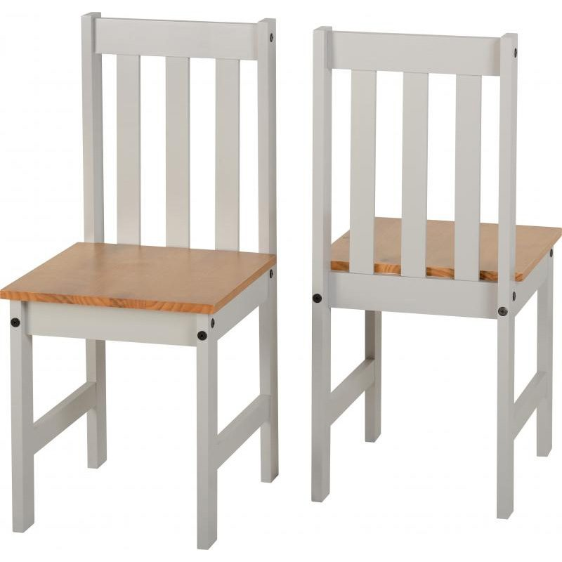 Ludlow Grey Painted Dining Set Chairs