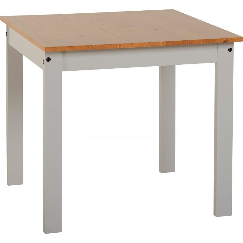 Ludlow Grey Painted Dining Set Table