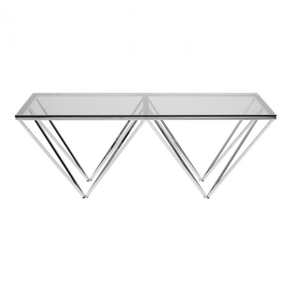 Akila Glass Rectangular Coffee Table