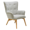 square_bergen muted grey armchair side