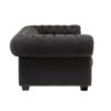 square_lincoln dark grey 3 seater sofa 1