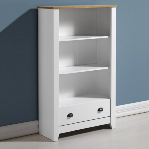 Ludlow White Painted Bookcase