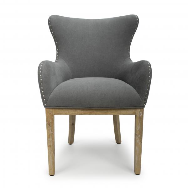 Camryn Stone Grey Chair