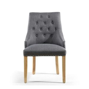 Antoinette Steel Grey Dining Chair