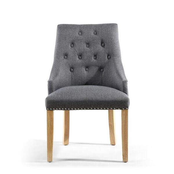 Antoinette Steel Grey Dining Chair