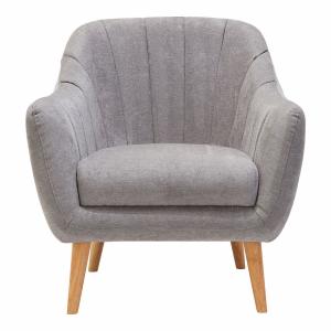 Gottenburg Light Grey Fabric Chair
