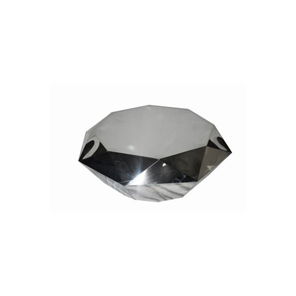 Verity Stainless Steel Coffee Table
