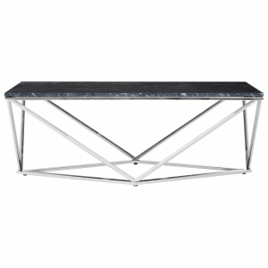 Aurelia Black Faux Marble Coffee Table