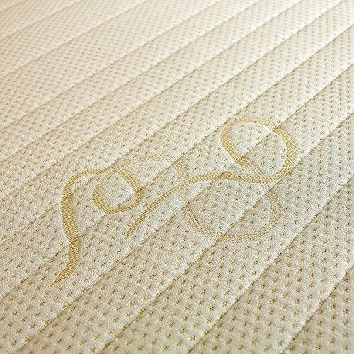 White Rose Mattress, 1500 Pocket Sprung with Memory Foam Topper
