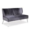 Amalia Charcoal Fabric Sofa