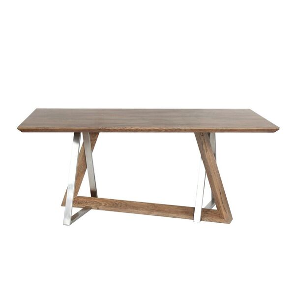 Colton Industrial Style Dining Table