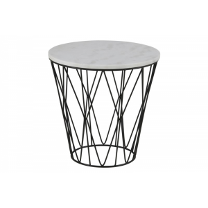Dudley Marble Lamp Table