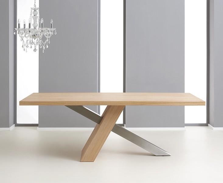 Montana 180 cm Oak Veneer Dining Table