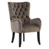 square_mink velvet armchair 1