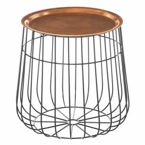 Templar Copper Side Table