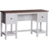 Shaker Style Desk Soft White 1