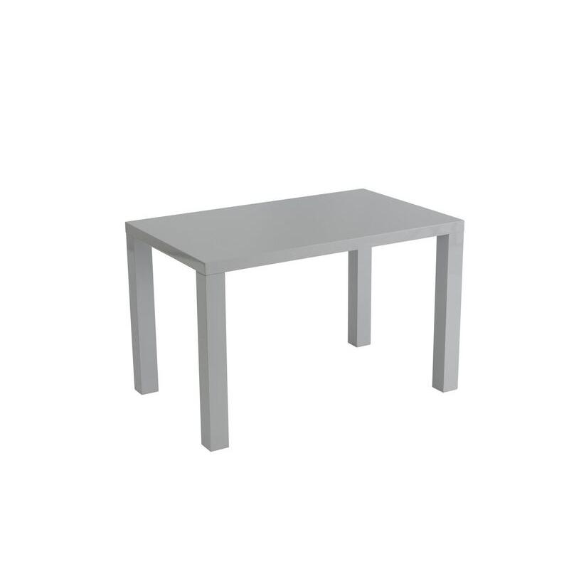 Monaco Grey Gloss Dining Table