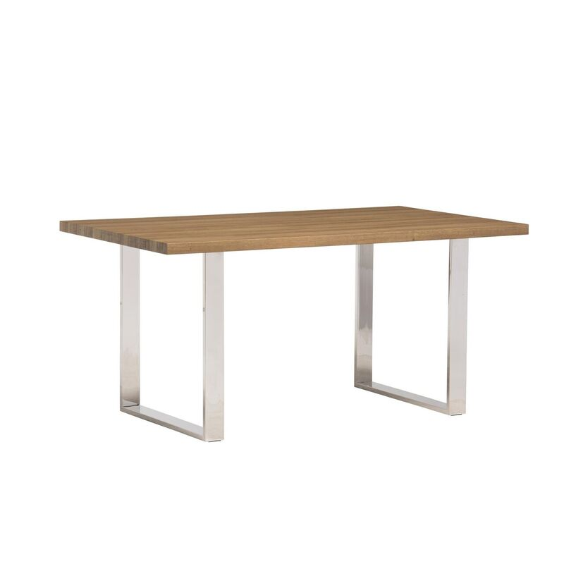 Naples French Rustic Dining Table (Dimensions: 1.2m: W 120 cm x D 80 cm x H 75 cm)