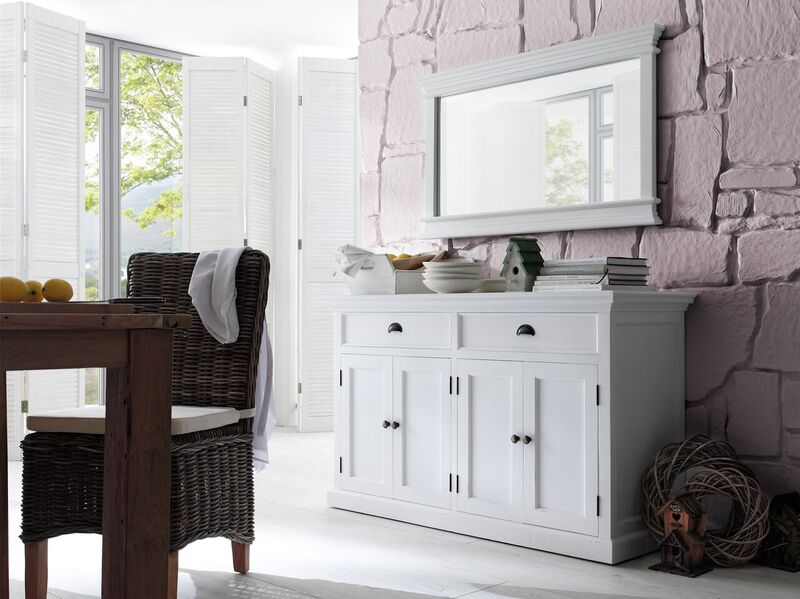 Halifax White Painted Classic Sideboard